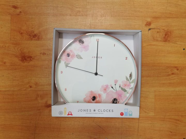 Dunelm Floral Clock