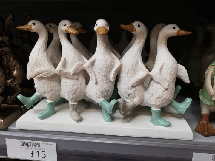 Dunelm ornaments Ducks