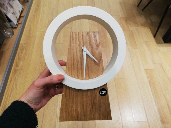 Next Wooden Mantle Clock